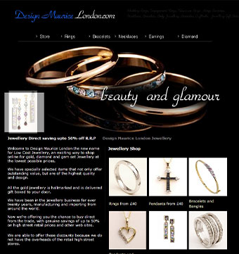 eCommerce jewellery wholesaler
